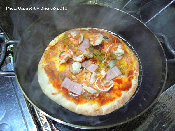 ピザ ダッチオーブン