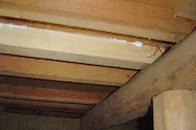 築25年越えのキッチンの床修理
